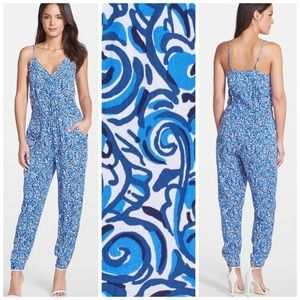 Lilly Pulitzer Melba jumpsuit chasing tail small
